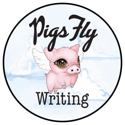pigs-fly-writing-logo-watercolour